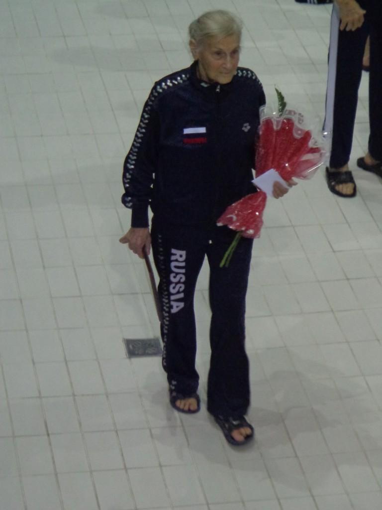 Olga Kokorina, 11-fache Weltmeisterin